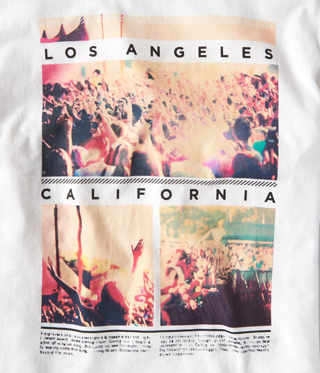 LA Concert Crowd Graphic Tee