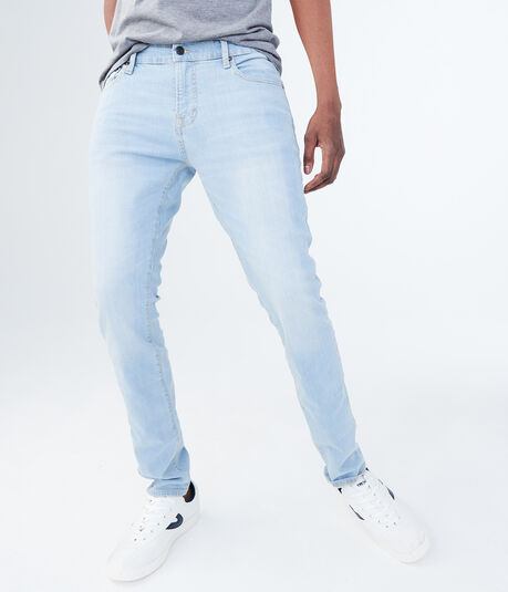 Skinny Light Wash Stretch Jean
