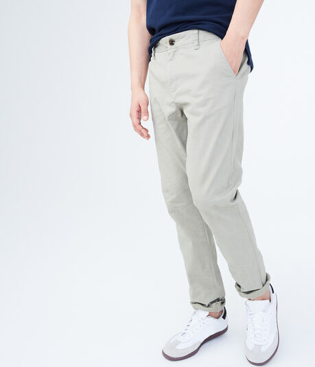 Skinny Color Wash Stretch Chinos