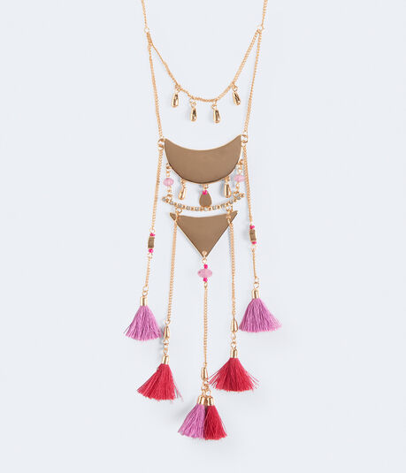 Trendy Tassels Short-Strand Necklace