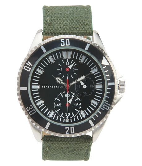 Canvas Chrono Analog Watch