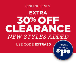Clearance Extra 30% Off