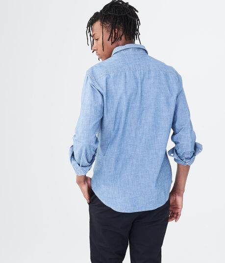 Long Sleeve Workwear Woven Shirt