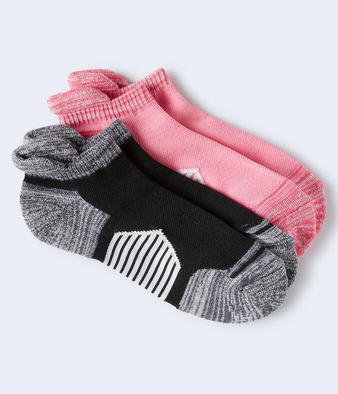 2-Pack Colorblocked Active Socks