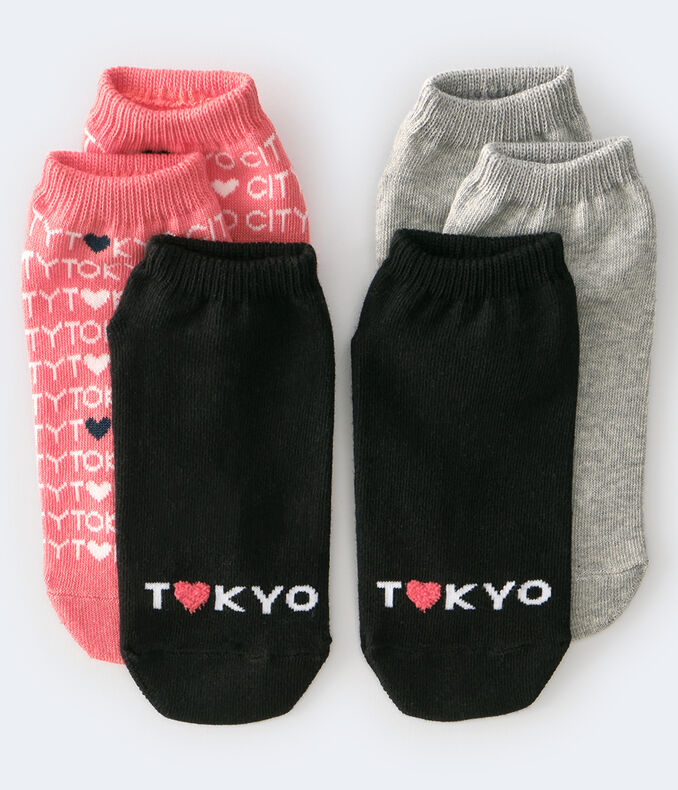 Tokyo Ankle Sock 3-Pack
