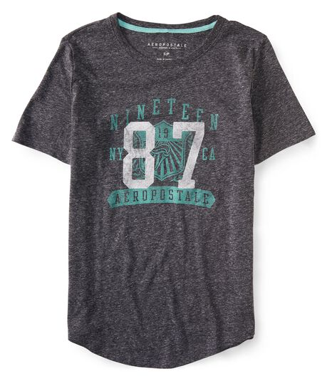 Nineteen 87 Torch Shield Graphic Tee