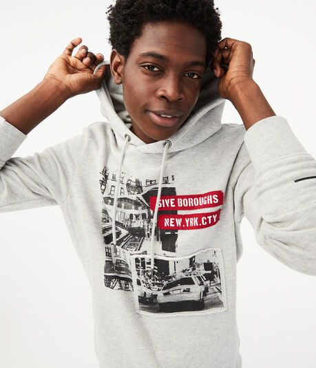 5ive Boroughs Pullover Hoodie