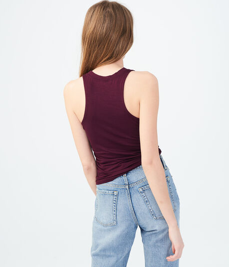 Ruched Bodycon Tank