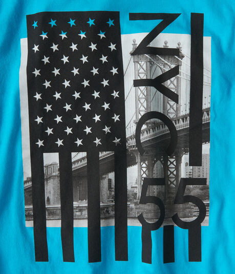NYC 55 Flag Graphic Tee