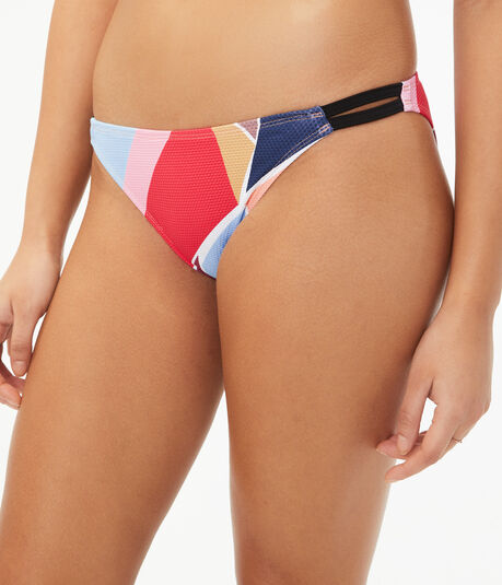 Geometric Strappy Hipster Bottom
