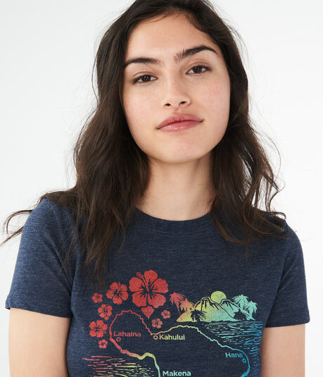 Maui Ombre Graphic Tee