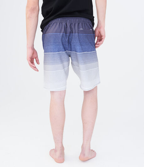Airwalk Ombre Stripe Stretch Boardshorts