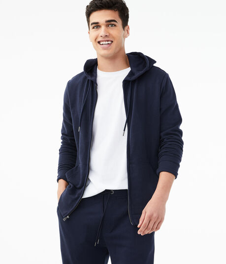 Uniform Full-Zip Hoodie***