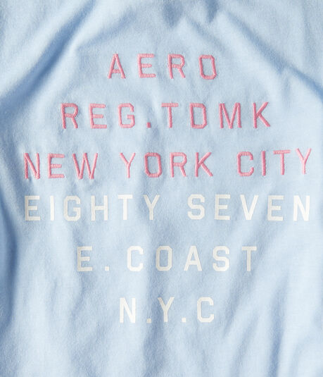 Aero New York City E. Coast Graphic Tee