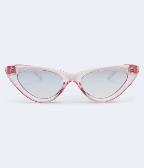 ea8837bbf8 Clearance. Cateye Mirrored Sunglasses    ...