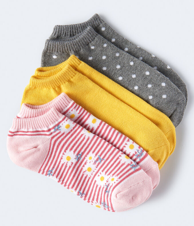 Daisies Ankle Sock 3-Pack