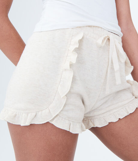 LLD Ruffled Fleece Shorts