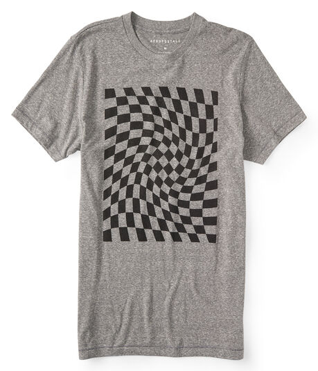 Checkerboard Graphic Tee