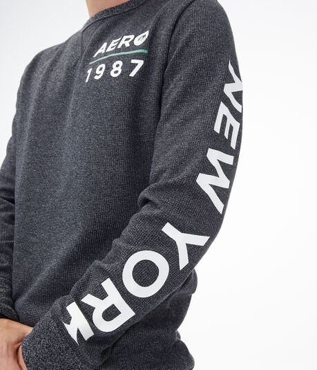 Long Sleeve Aero 1987 Thermal Stretch Graphic Tee