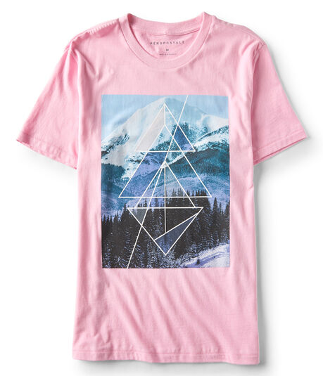 Mountain Geometry Graphic Tee