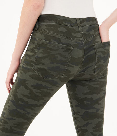 Seriously Stretchy High-Rise Camo Jegging