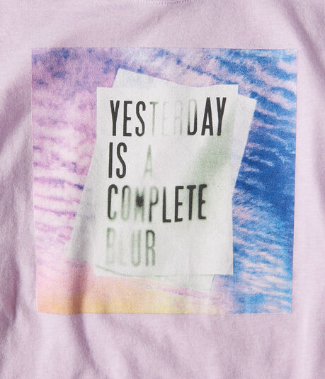 Free State Yesterday Is A Blur Graphic Tee