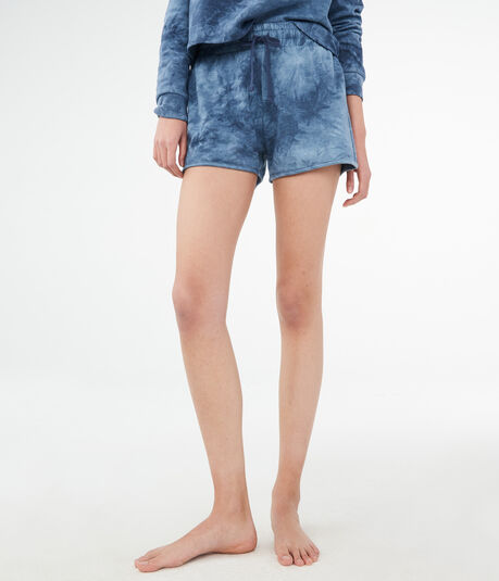 LLD High-Waisted Tie-Dye Shorts