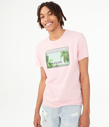 Escape To Paradise Graphic Tee