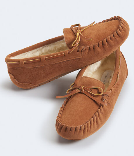Faux Suede Moccasin