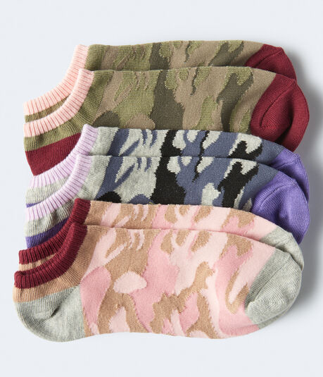 Camo Ankle Sock 3-Pack