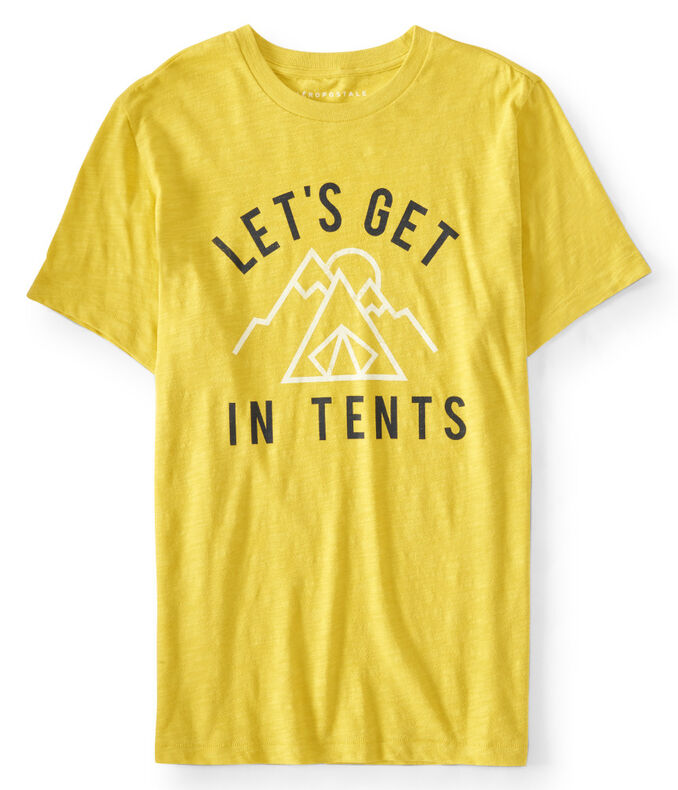 Let's Get In Tents Graphic Tee