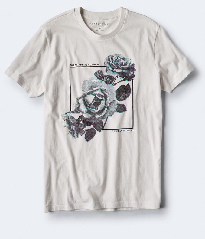 Today For Tomorrow Floral Graphic Tee