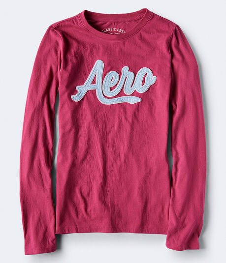 Long Sleeve Aero Logo Graphic Tee