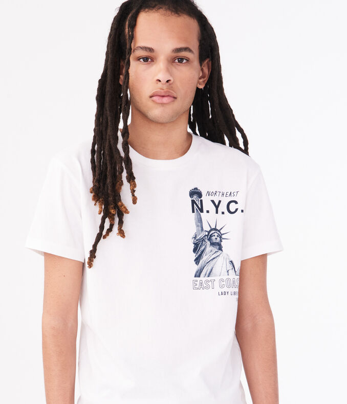 Lady Liberty NYC Graphic Tee