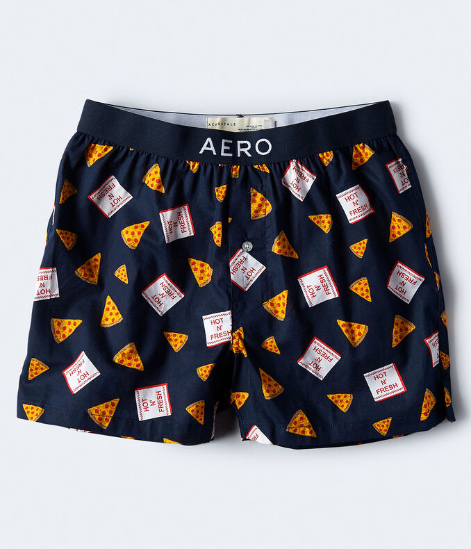 Pizza Woven Boxers