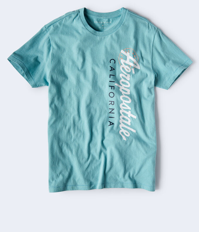 Vertical Aeropostale California Logo Graphic Tee
