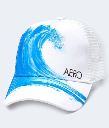 Catch A Wave Adjustable Trucker Hat
