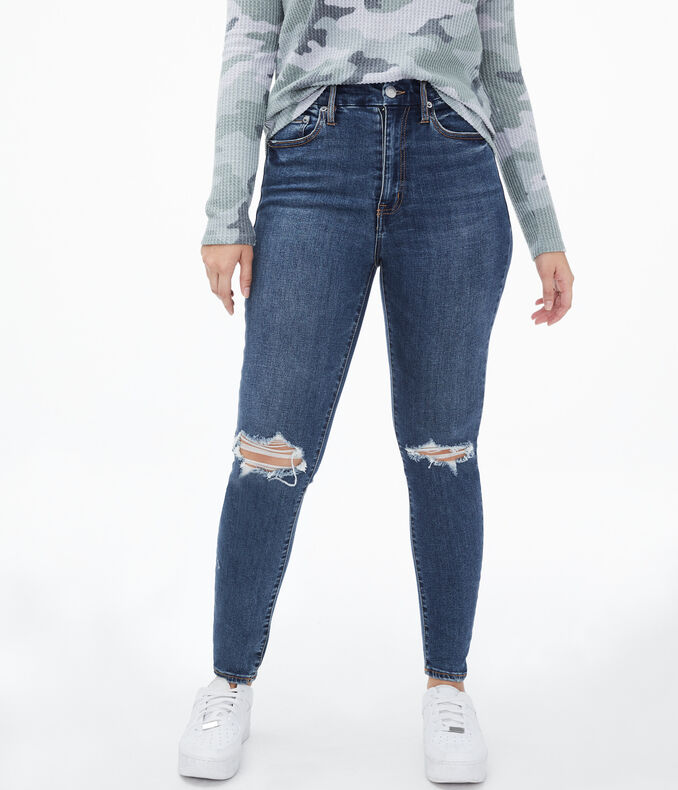 Premium Seriously Stretchy Super High-Rise Slim & Thick Curvy Ankle Jegging