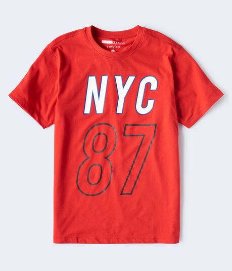 NYC 87 Stretch Graphic Tee