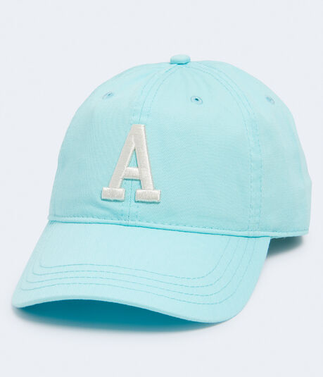 "Embroidered ""A"" Adjustable Hat"