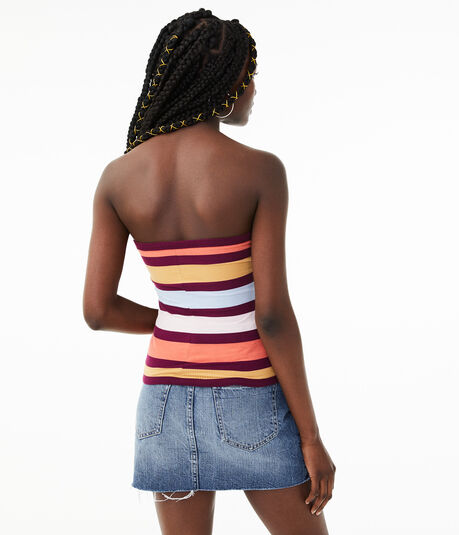 Seriously Soft Bold Stripe Tube Top