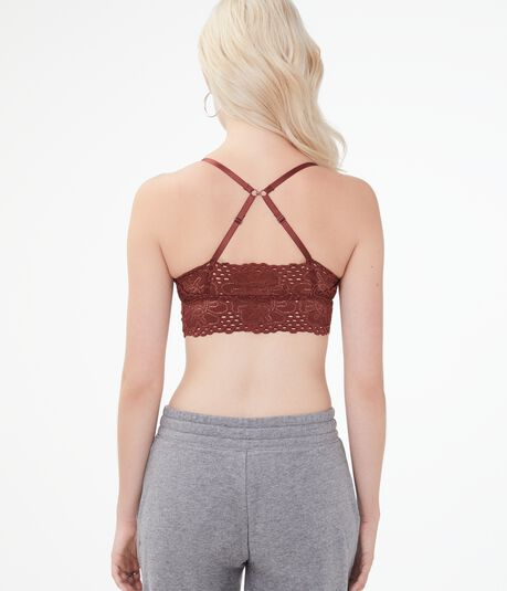 Floral Lace Triangle Bralette