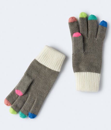 Color Tip Gloves