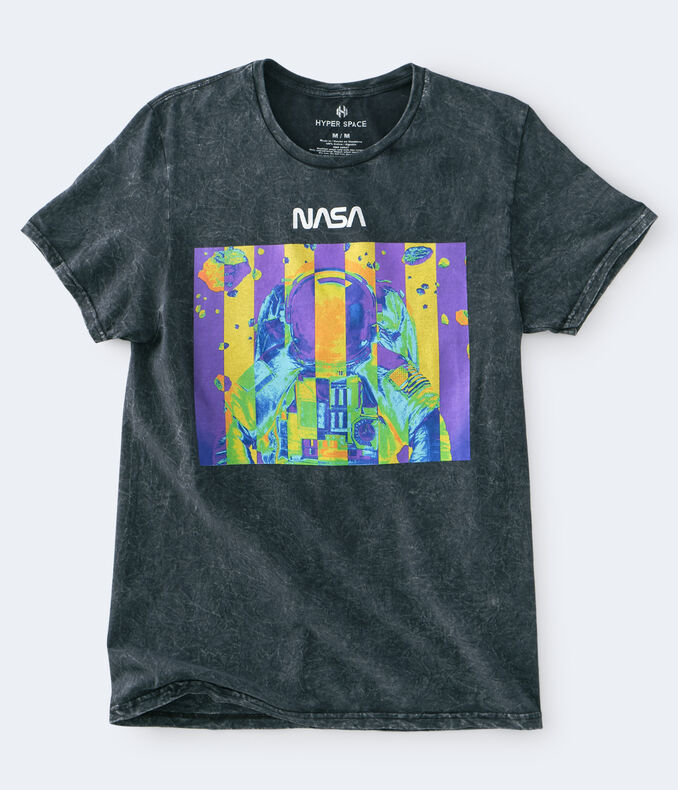 Washed NASA Boyfriend Tee***