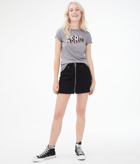 Tropical Block Letter Graphic Tee
