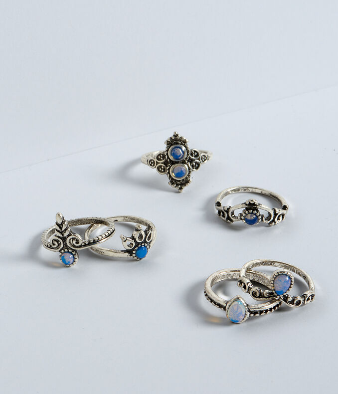 Opalescent Ring 6-Pack