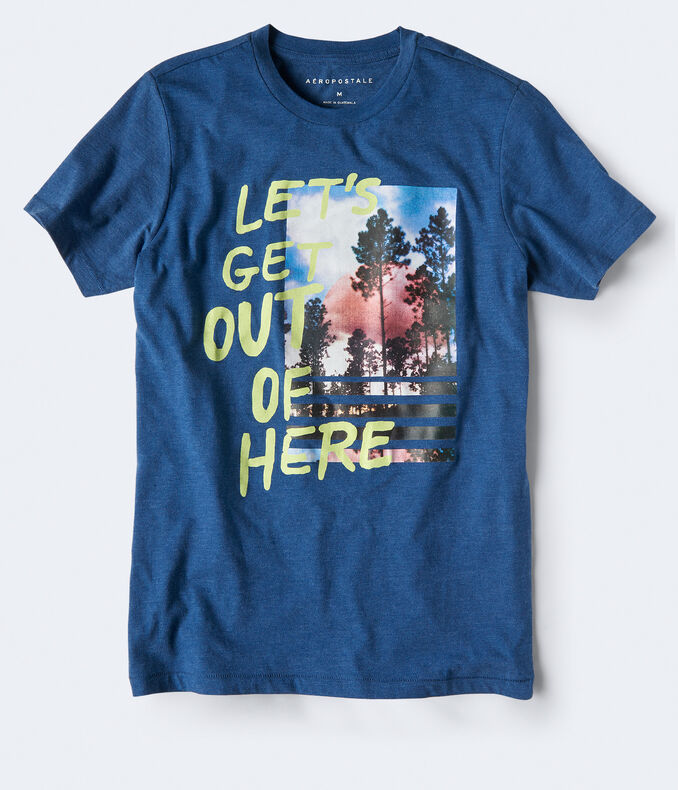 Get Out Graphic Tee