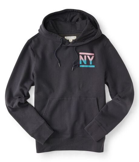 NY New York Pullover Hoodie