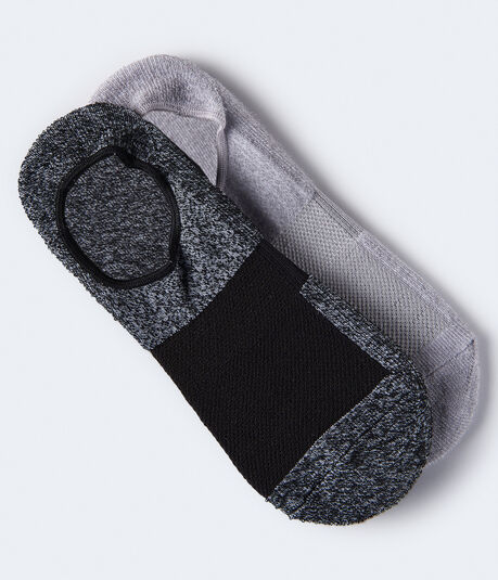 2-Pack Athletic No-Show Socks