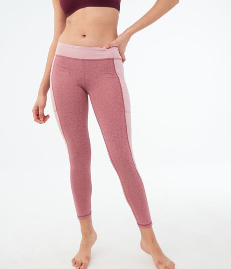LLD Colorblocked Pocket Ankle Leggings